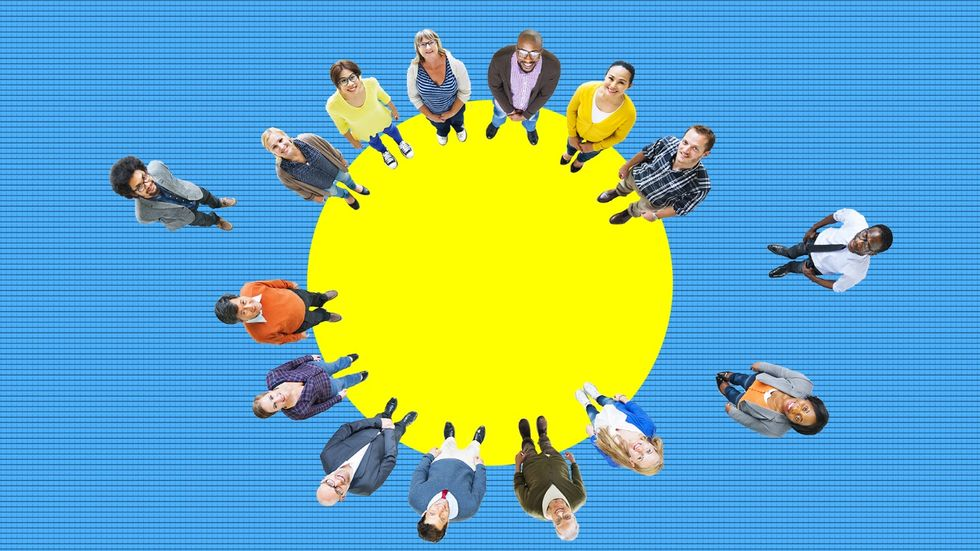 Inclusive meeting. Diversity requires inclusion to mean anything. Diversity requires inclusion to mean anything. (Shutterstock/Big Think)