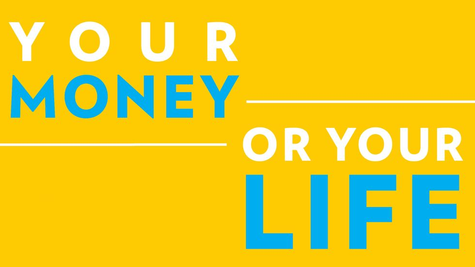 Cover image of Your Money or Your Life by Vicki Robin and Joe Dominguez
