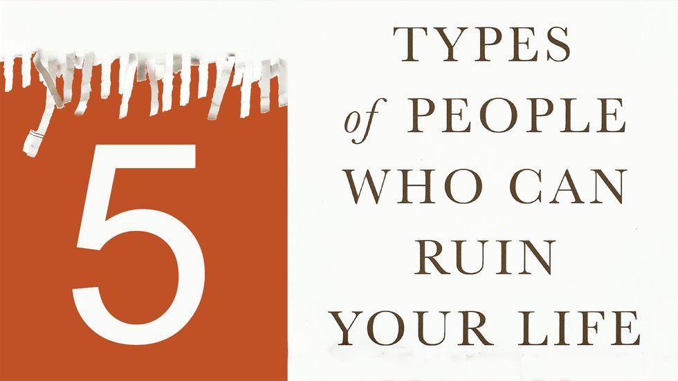 Cover image of Five Types of People Who Can Ruin Your Life by Bill Eddy