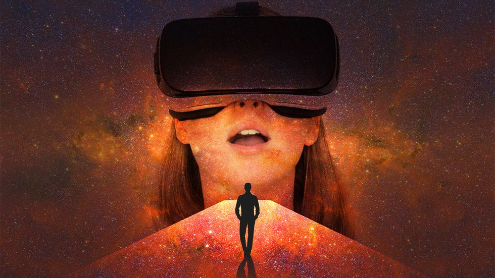 You are who you are because of your environment. What happens in a virtual world? (Image: Shutterstock/Big Think)