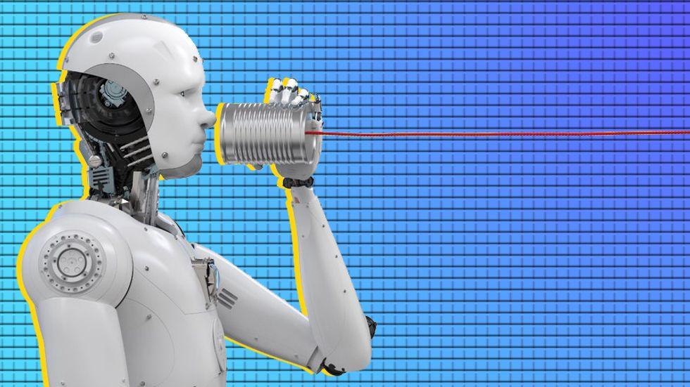 An A.I. is listening (Phonlamai Photo via Shutterstock)