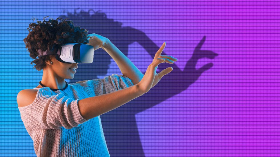 What's the difference between VR and AR? (Image: Shutterstock/Big Think)