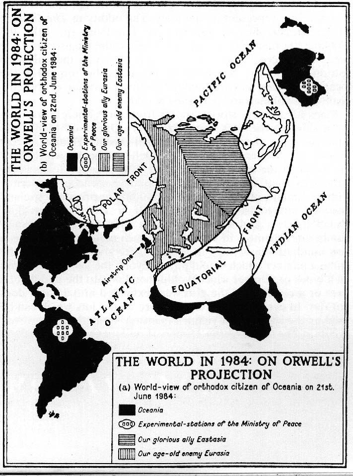 Orwellian Cartography 101 How To Tell Two Truths With One Map Big Think