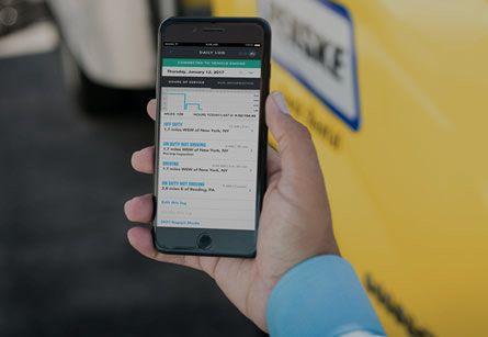 Penske Driver App Image