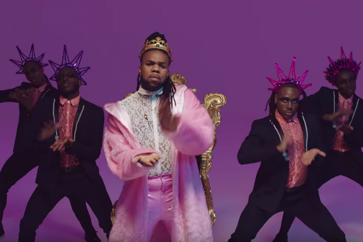 MNEK Came 'Correct' In His New Video