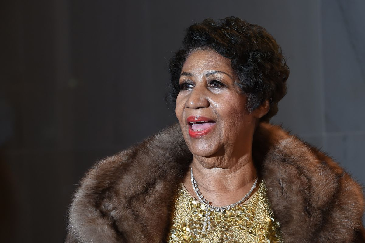 Stars Turn Out for Aretha Franklin's Funeral