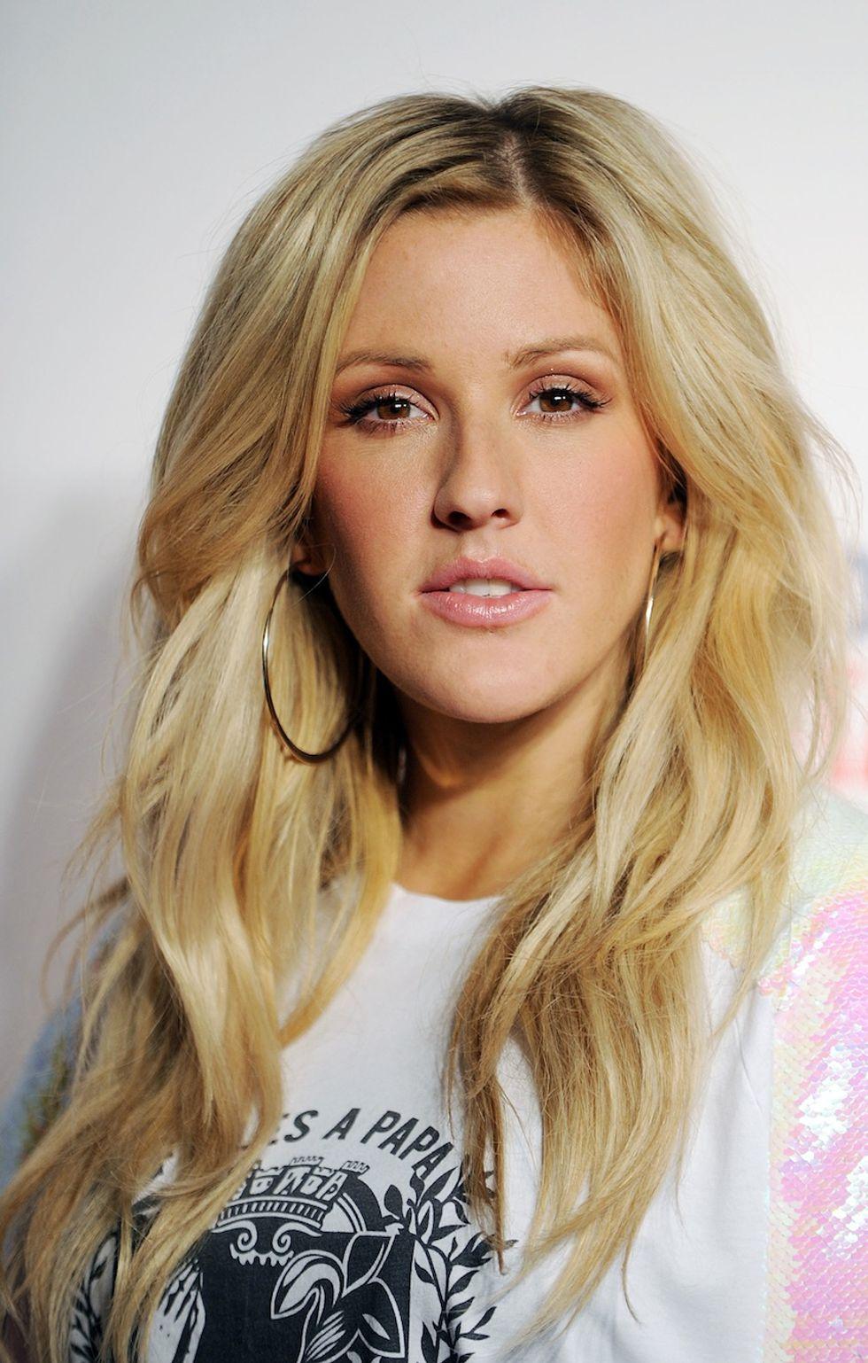 Ellie Goulding Makeup - NYLON