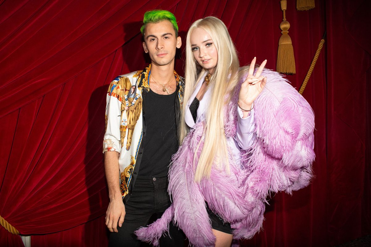 Kim Petras Takes the Stage at Christian Cowan After Party