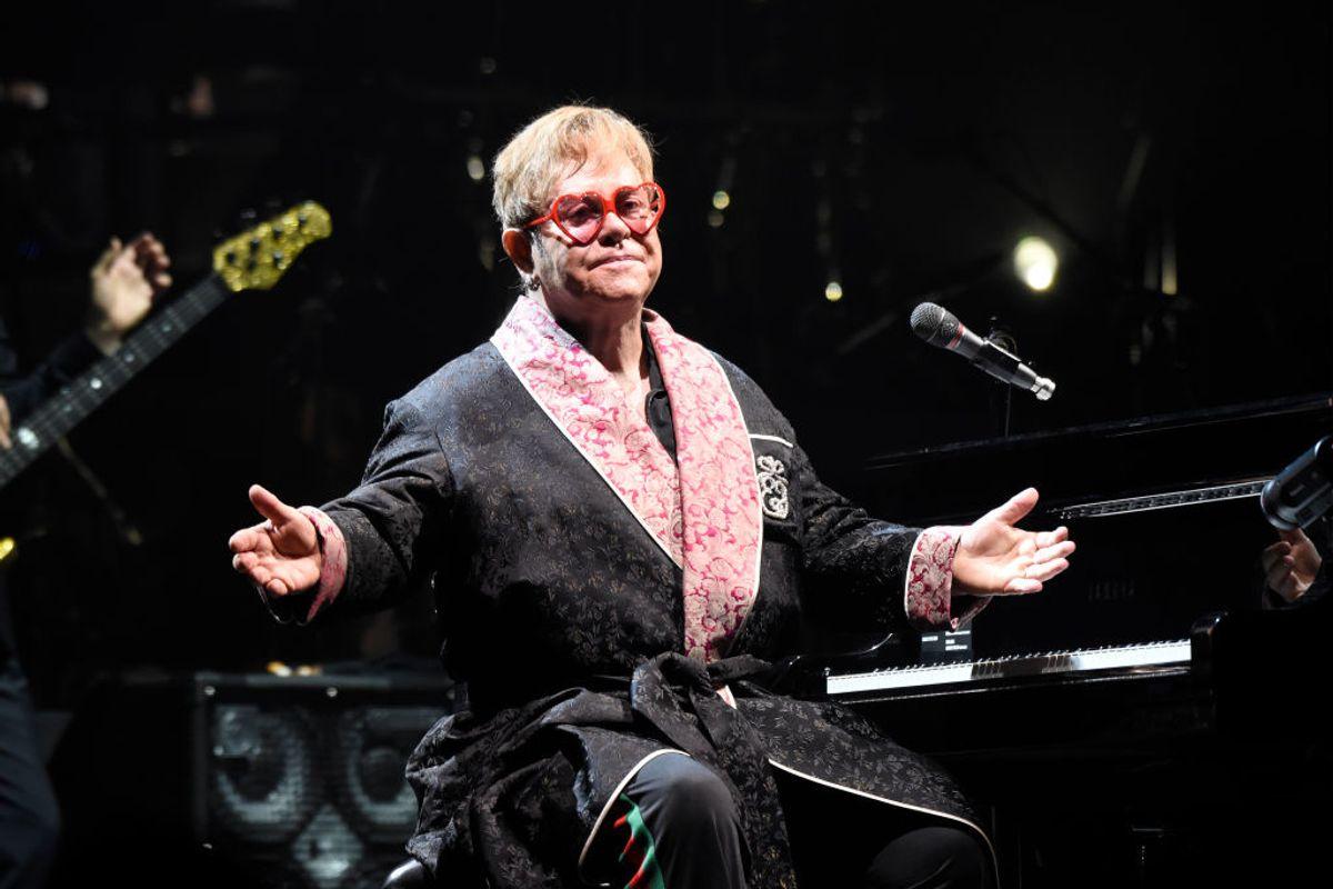 Elton John Just Kicked Off His Farewell Tour