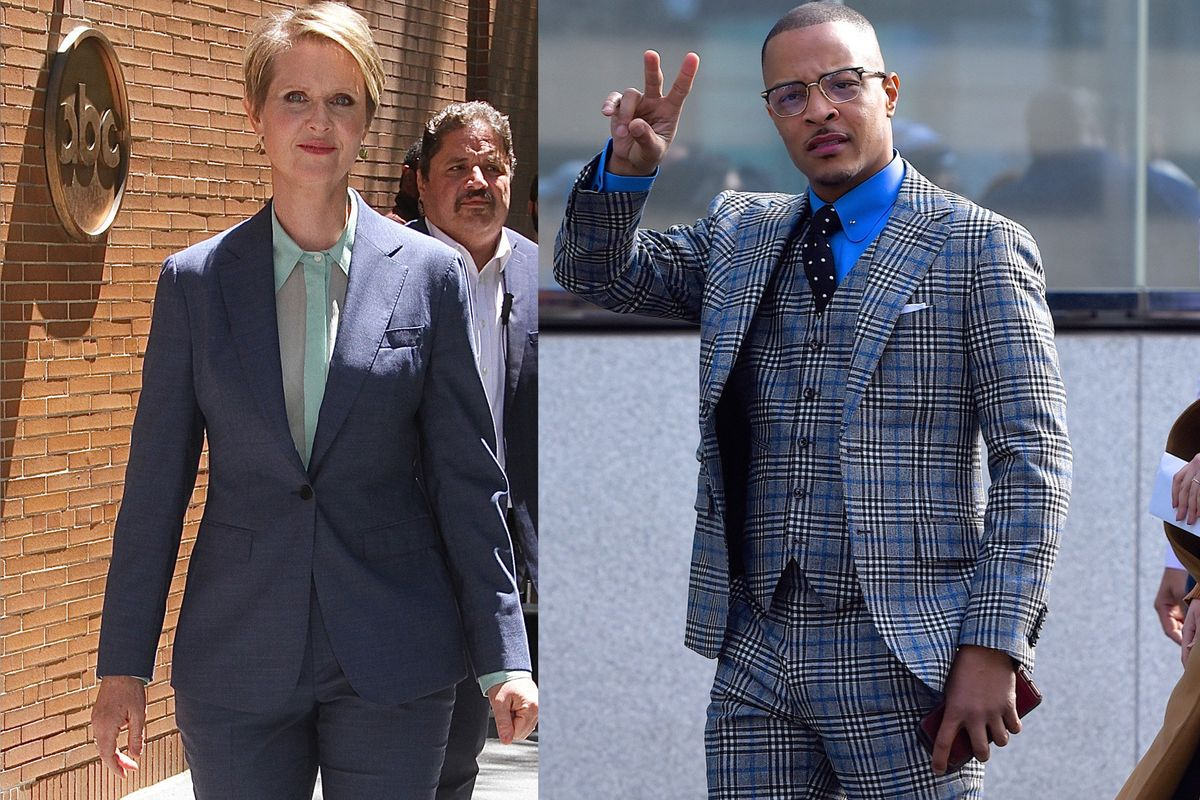 Here's T.I. Discovering Cynthia Nixon For The First Time