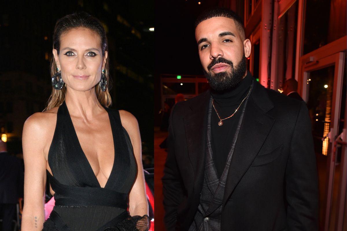 Heidi Klum Left Drake On Read