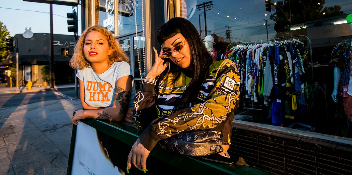 Go Thrift Shopping With NeoPerreo Stars Tomasa del Real and Ms. Nina