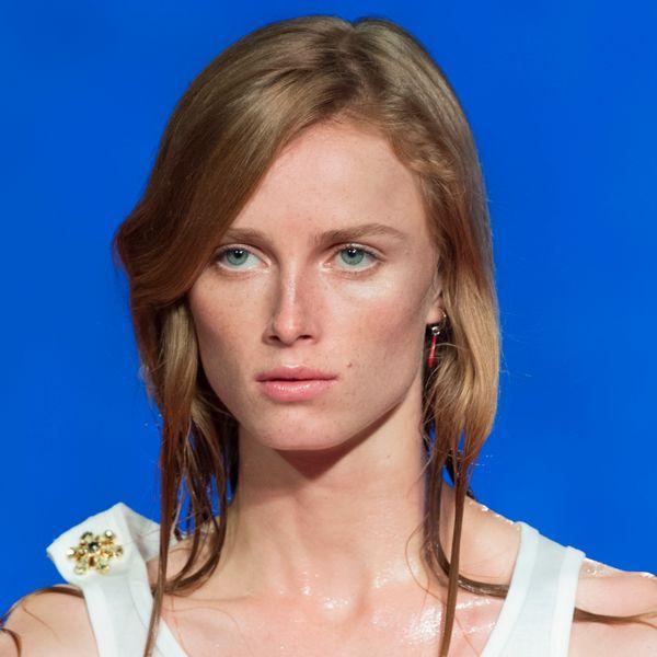 Breaking Beauty: Calvin Klein's Ocean Spray Glam