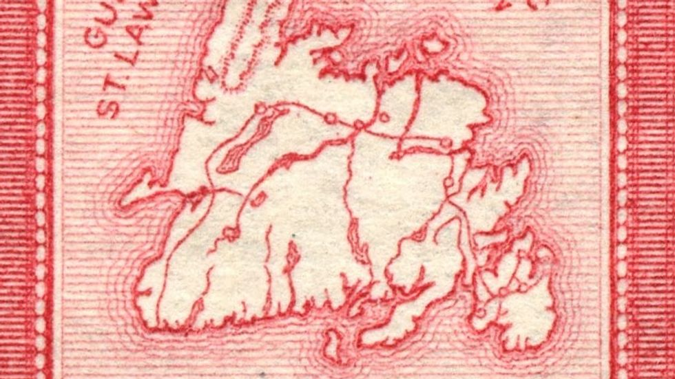 31 - Newfoundland On A Stamp