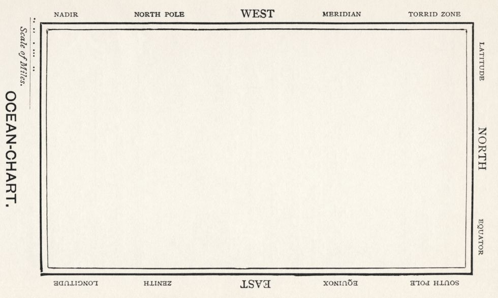 Lewis Carroll's Map of Nothing