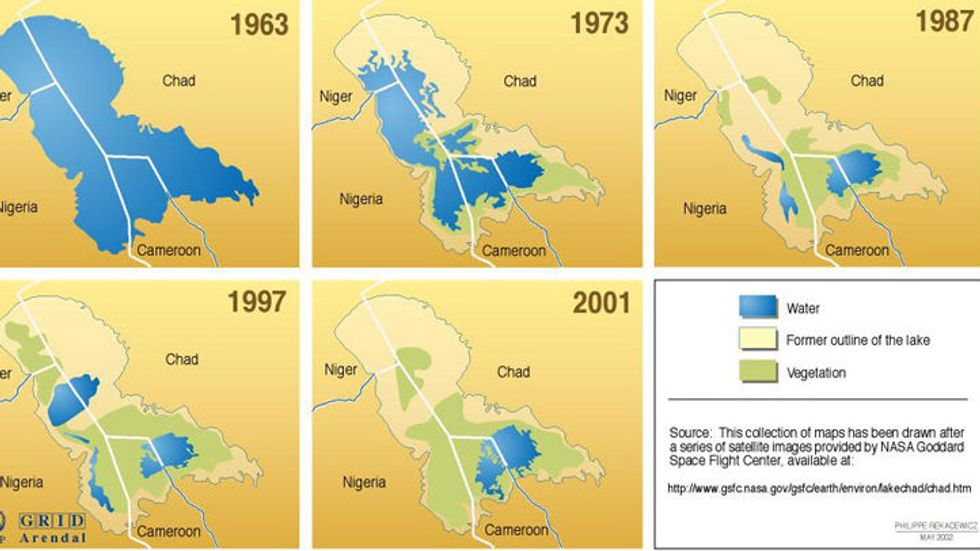 95 - The Incredible Shrinking Lake (Chad, That Is)