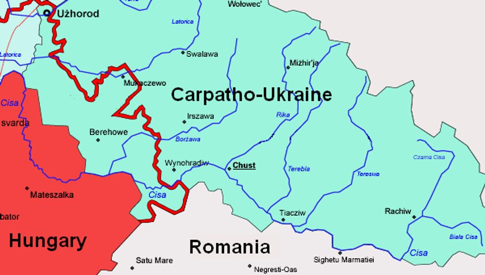 Carpatho-Ukraine, Independent For Only 24 Hours