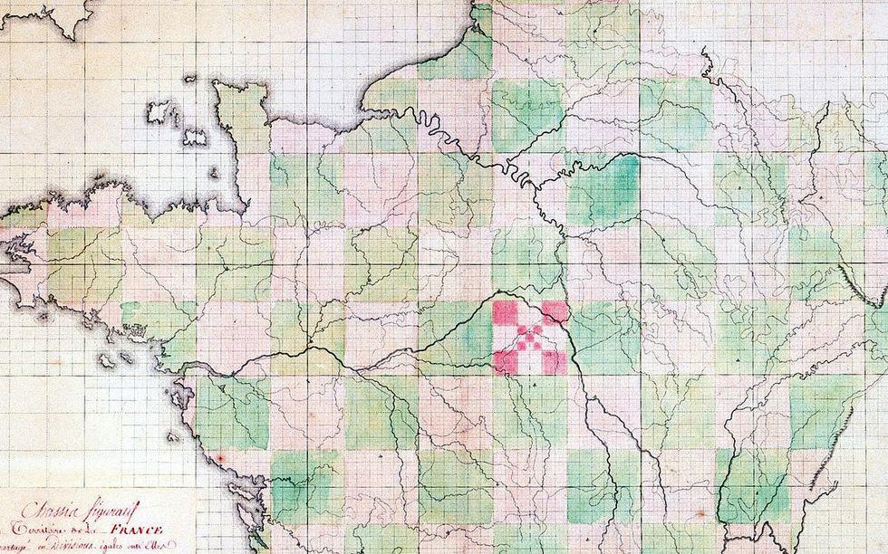 Squaring the Hexagon: France's Rectangular Départements