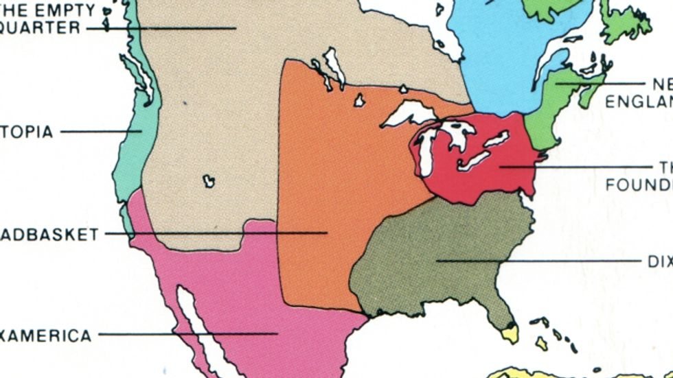 174 - The Nine Nations of North America