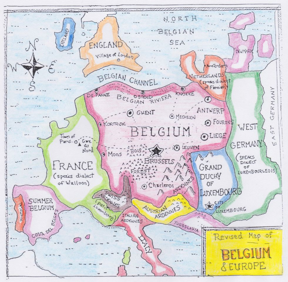 How Belgium Plans To Take Over Europe Big Think