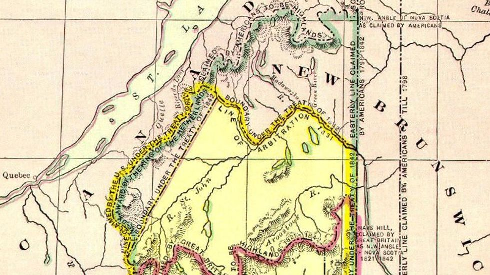 When Maine Went to War over its Northern Border