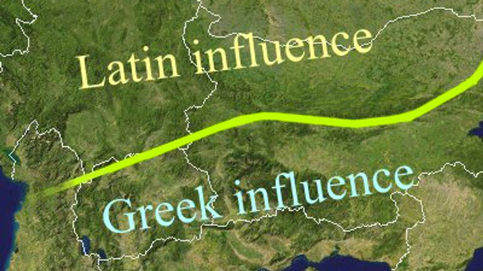 The Jireček Line