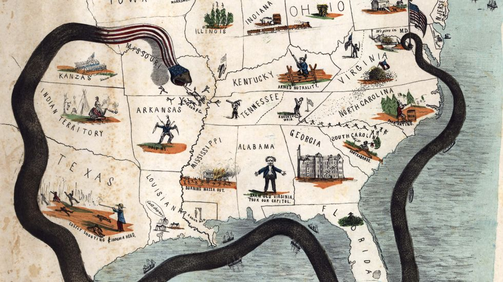 'Scott's Great Snake': a Plan to Strangle the Confederacy