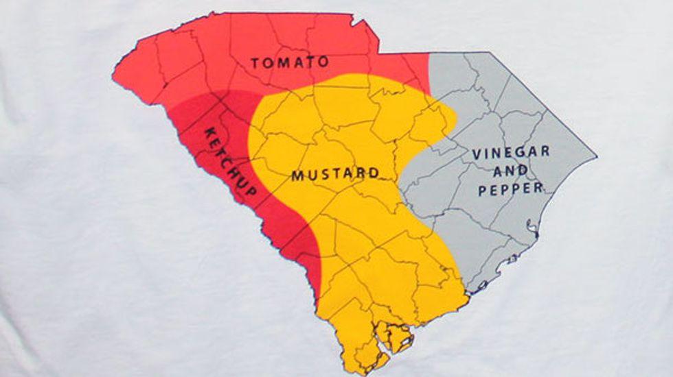 Barbecue Sauces of South Carolina