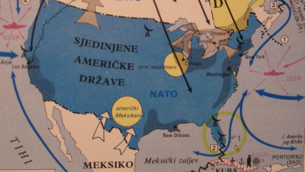 251 - Pot Kettle Black: Yugoslav Map of the Near-Collapsing US