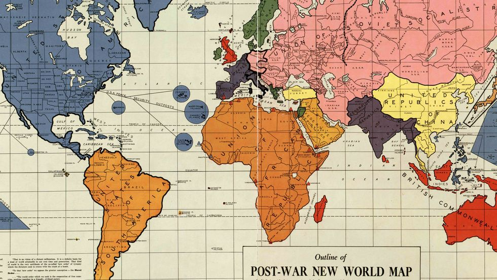 A 1942 Map of the New World Order