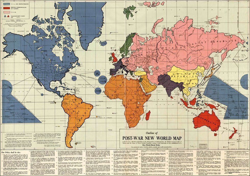 A 1942 Map of the New World Order - Big Think