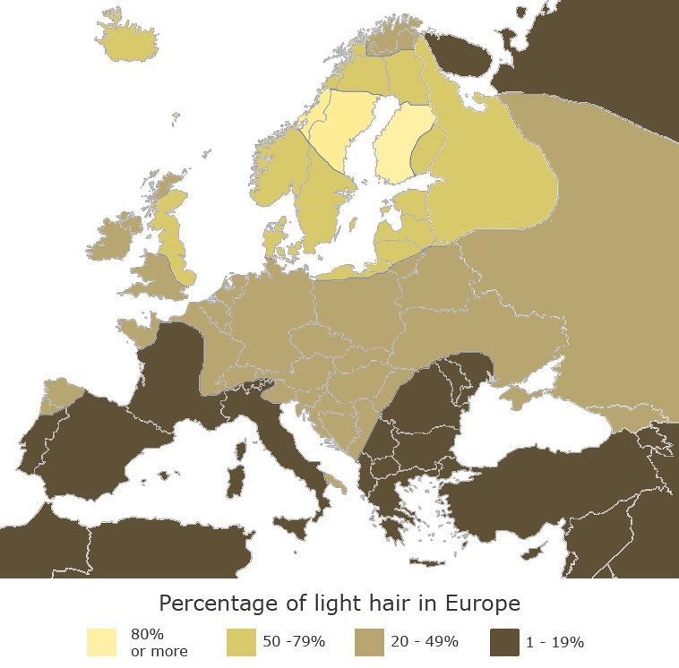 Map Of England Joke.The Blonde Vs Brunette Map Of Europe Big Think