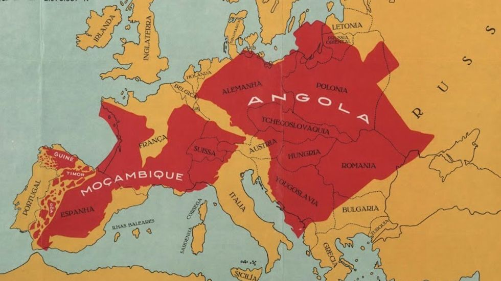 """Map Proves that """"Portugal is Not a Small Country"""""""