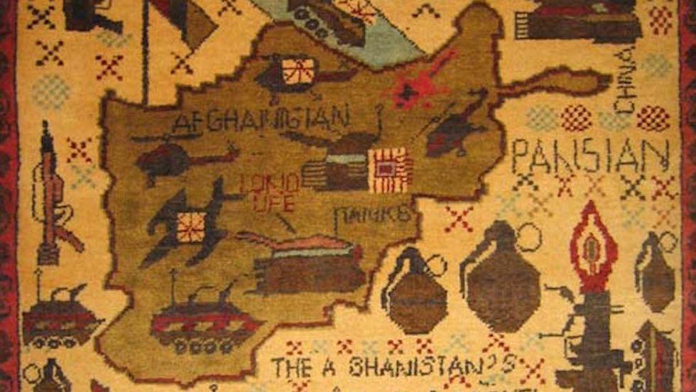The Strange Art of Afghanistan's War Rugs