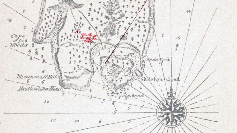 Robert Louis Stevenson and the Missing Map of Treasure Island