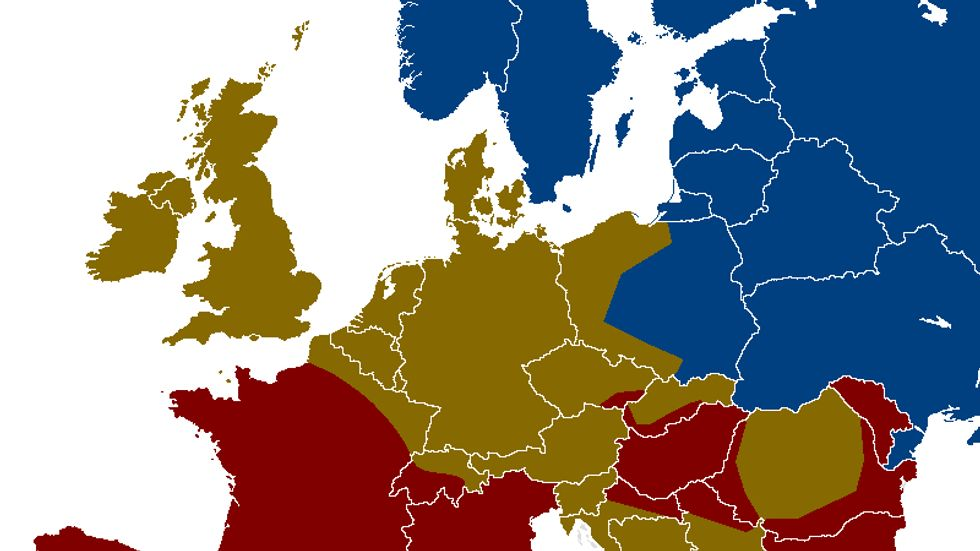 Distilled Geography: Europe's Alcohol Belts