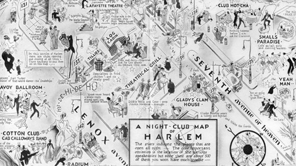 A Night-Club Map of 1930s Harlem