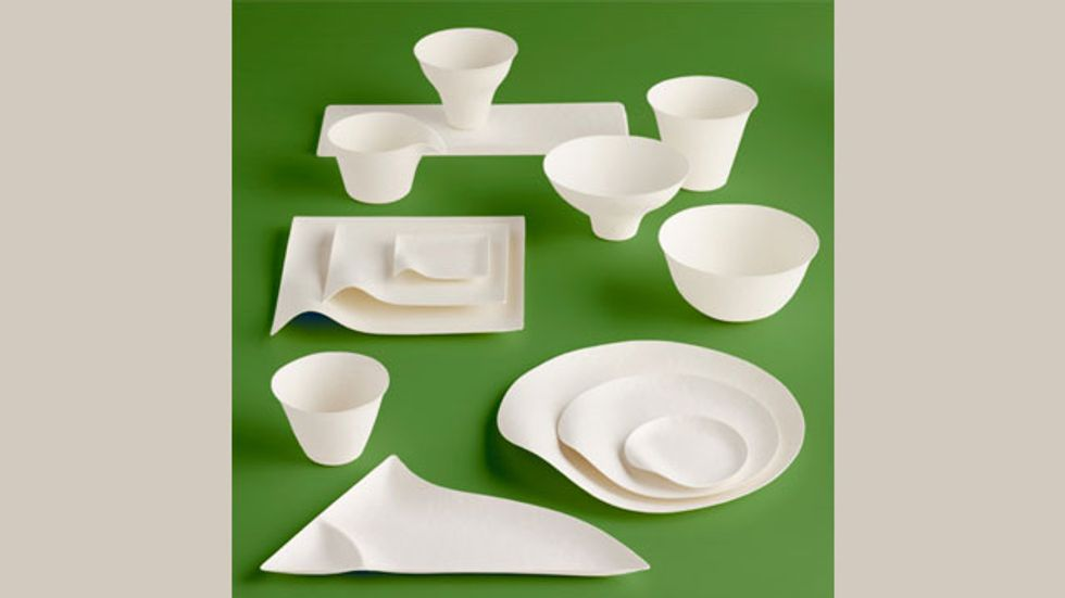 WASARA: Elegant Biodegradable Japanese Disposable Tableware