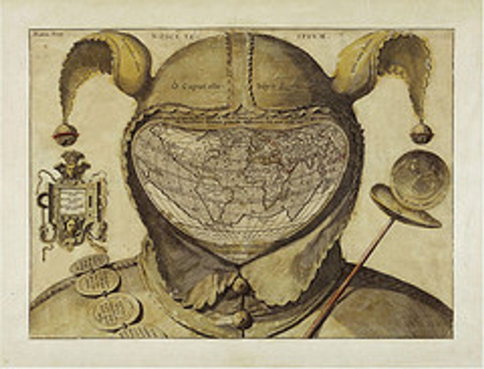 480 - The Fool's Cap Map of the World
