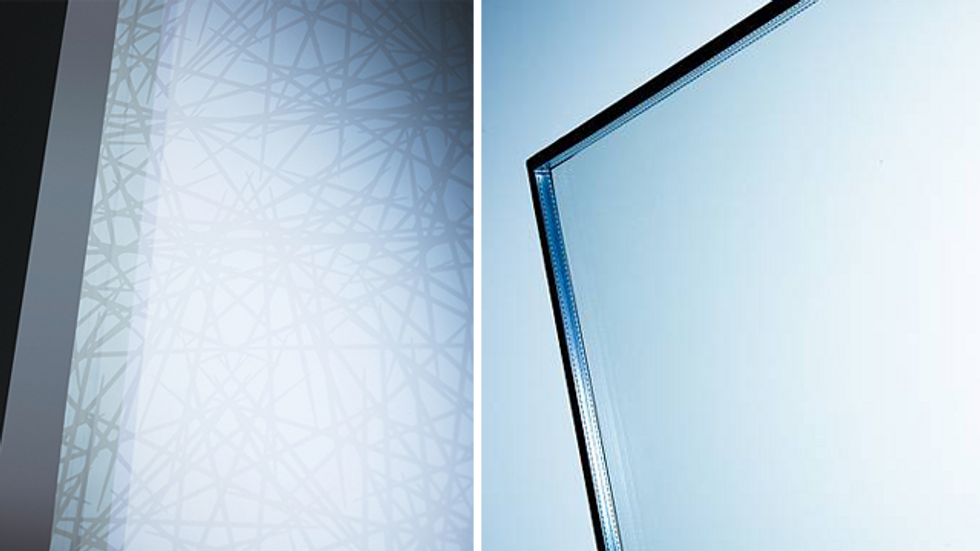 Ornilux Mikado: Bird-Protection Glass Inspired by Spider Webs