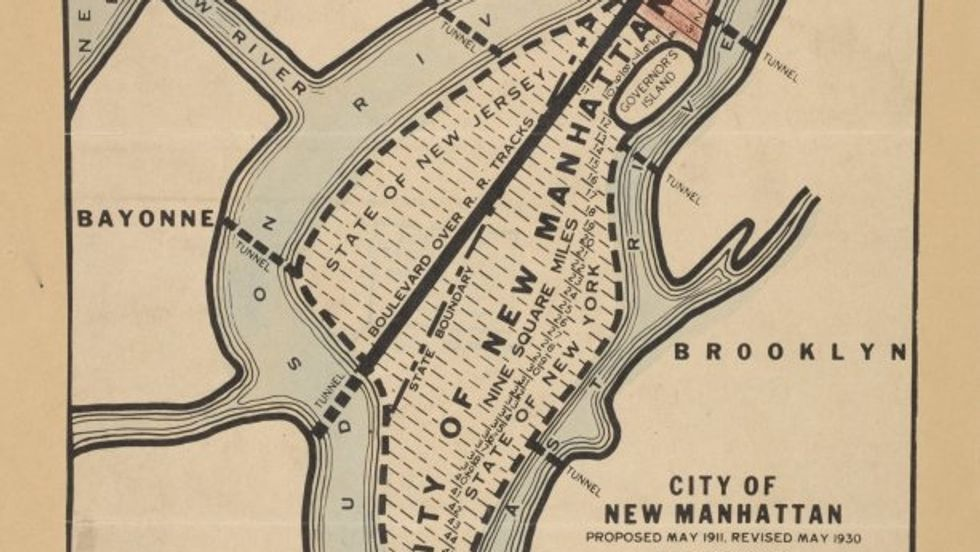 """The Failed Plan to Build a """"Really Greater New York"""""""
