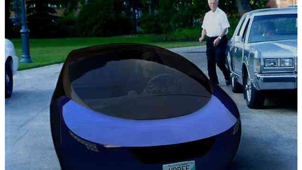 Urbee: The World's First 3-D Printed Car
