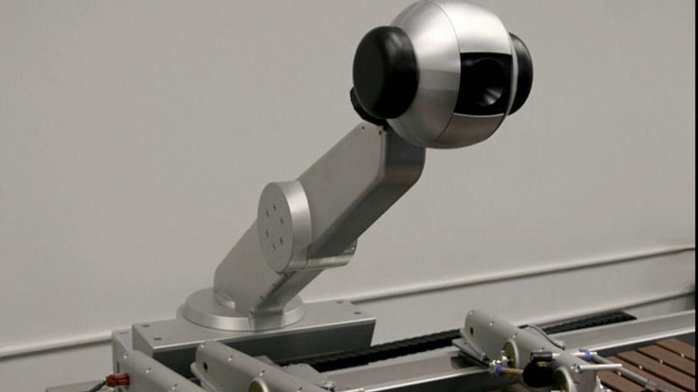 Shimon: The Robot Musician