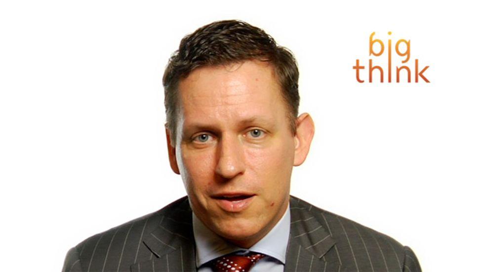 Peter Thiel: Regulation Stifles Innovation