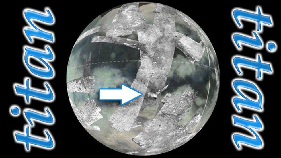 Ice Volcano Identified on Titan
