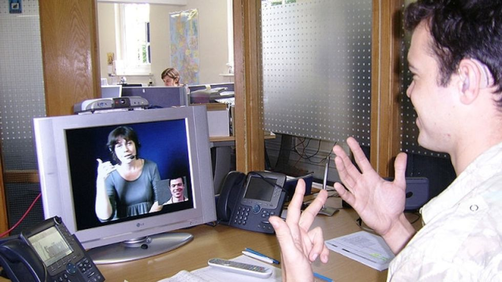 Video Calls - Breakthrough in Communication for Deaf People
