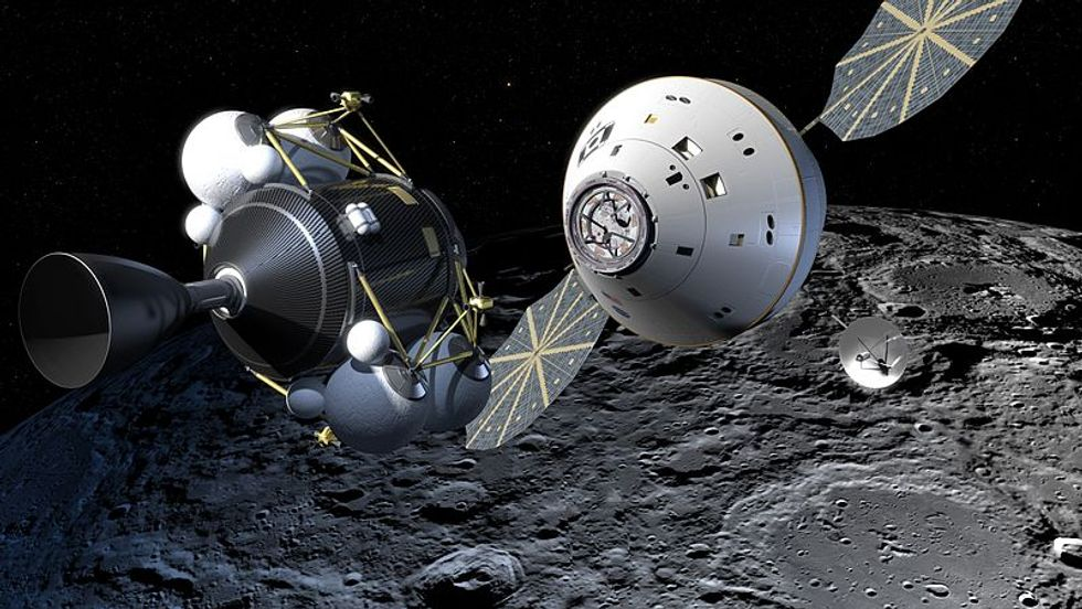 Space Capsule Aims for Asteroids, Martian Moons