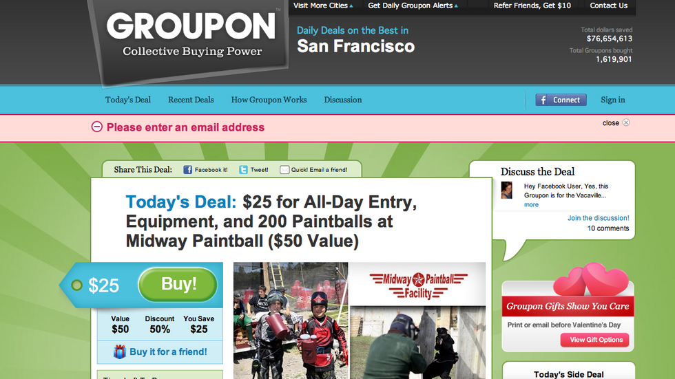 Why would Groupon IPO?