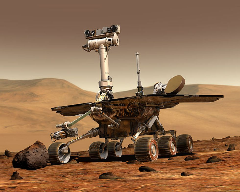 At N.A.S.A., Mars Rover Rivalry