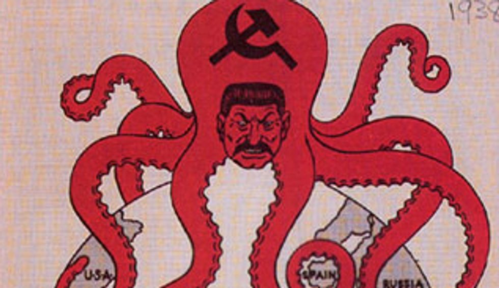 Cartography's Favourite Map Monster: the Land Octopus